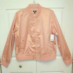 City Streets Pink Windbreaker Jacket, size XL
